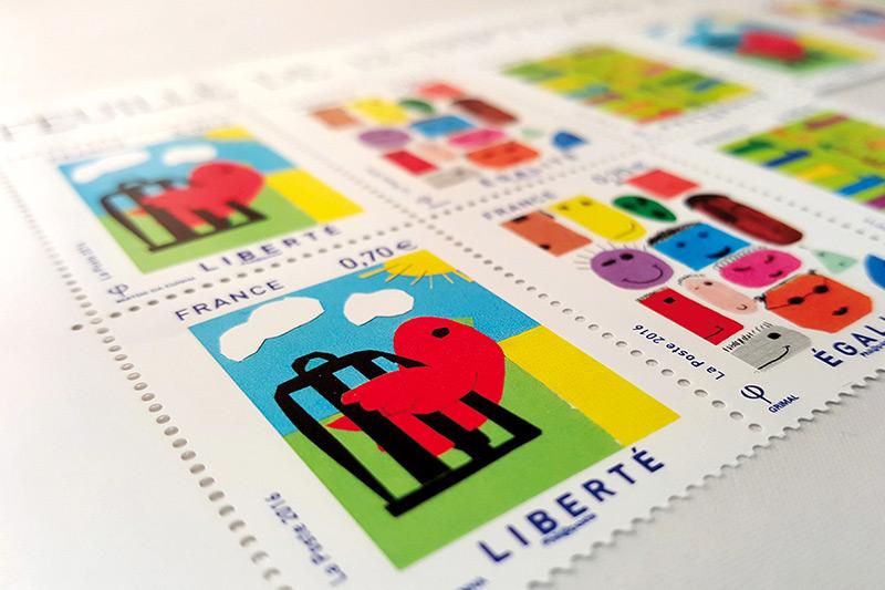 Carte per francobolli