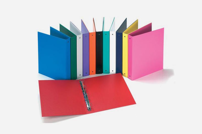 Cartoni ricilati per archiviazione e cartellette