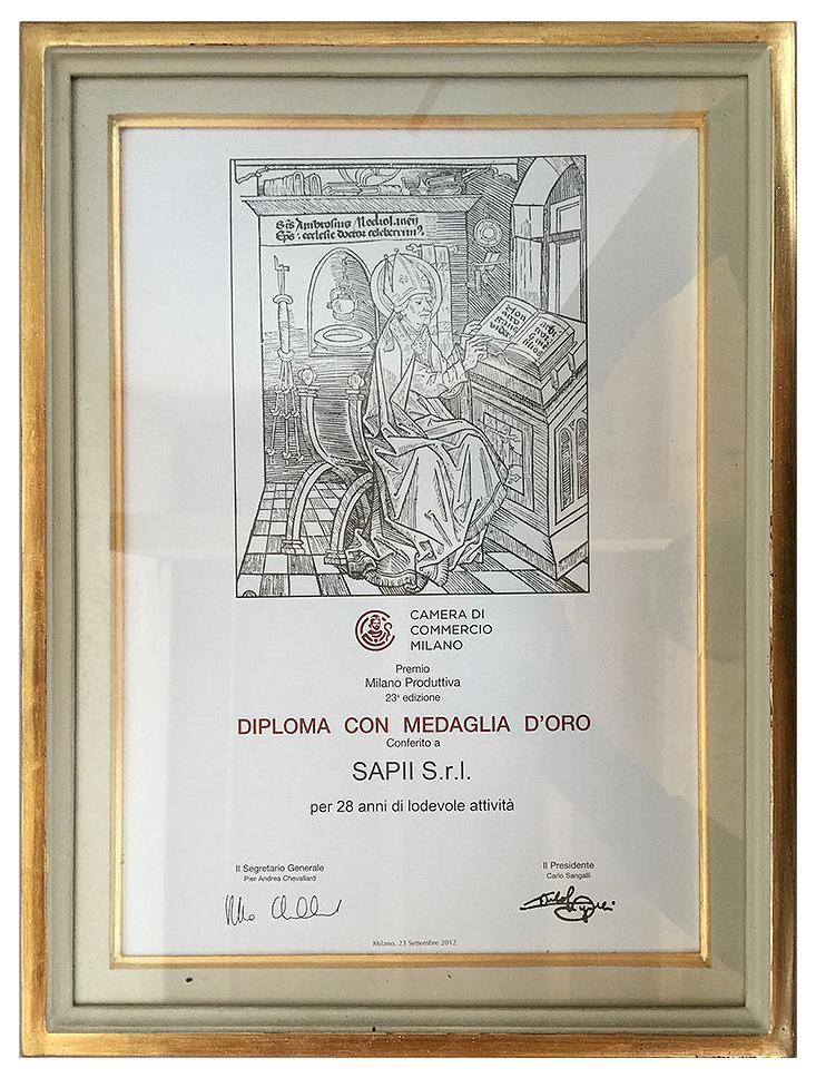Riconoscimento Sapii